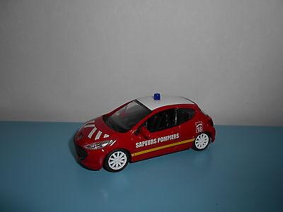 "METAL 1:43 Mondomotors 53138 Peugeot 207 /""Sapeurs Pompiers/"""