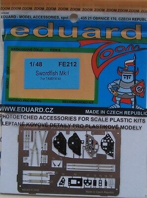 Eduard 1//48 FE216 Colour Zoom etch for the Tamiya P-51D Mustang kit