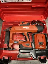 Hilti Bx 3 Battery Actuated Fastener Nail Gun Tool 2 Batteries And Charger