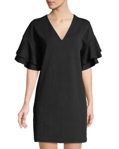 en femmes noire crêpe Robe stretch moyenne 192113819256 taille pour Kensie 7049 qw6BHtn71