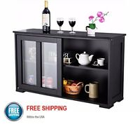 Kitchen Display Buffet Storage Cabinet Foyer Side Table Decor Sideboard Hutch