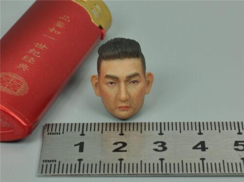 Head Sculpt for DAMTOYS DAM PES008 Hong Kong SDU Sam Sir 1//12 Scale Figure