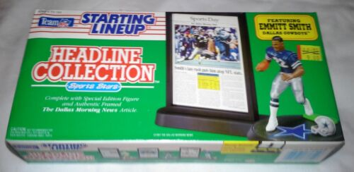 1992 Kenner Starting Lineup Headline Collection Emmitt Smith Dallas Cowboys NFL