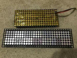 100x lot joblot tested DIY powerwall cell akku baterìa1865 2000-2199 mAh