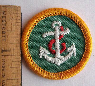 Vintage Cadette Girl Scouts Badge//Patch ~1963-1980 ~ Horsewoman Horseback Riding