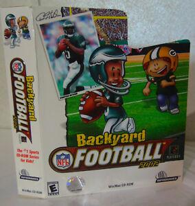 Backyard NFL Football 2002 CD-Rom (Win/Mac) in Original ...