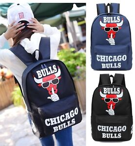 54b65ec350 NEW Michael Jordan 23 Chicago Bulls Backpack Travel Bag Girls Boys ...