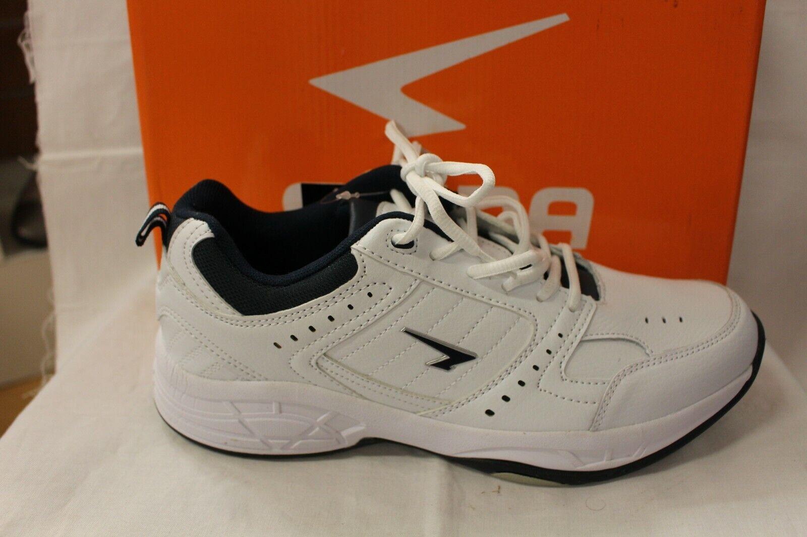 Mens SHOES FOOTWEAR - Sfida Defy white jogger walker