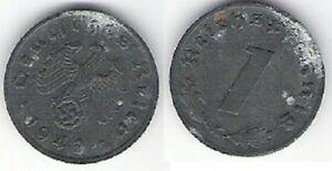 """Pièce de monnaie de """"ALLEMAGNE"""" 1 Reichpspfennig (1942) - France - Région: Europe Année de frappe: 1942 Pays: Allemagne - France"""