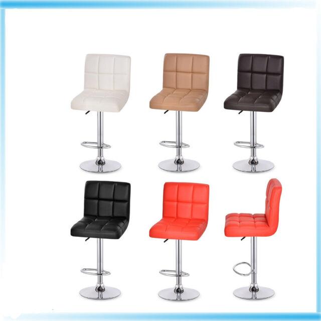 Outstanding 2Pcs Leather Kitchen Breakfast Bar Stool Xt 396 Barstools Pu Swivel Stools Machost Co Dining Chair Design Ideas Machostcouk