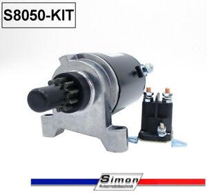 Anlasser-mit-Magnetschalter-im-Set-passend-fuer-Tecumseh-37425-OHV-125-130-OH150