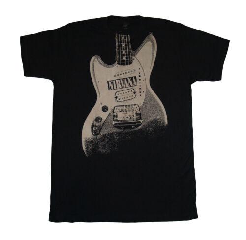 Gitarre Bild T-Shirt S-M-L-XL-2XL Neu Official Live Nation Merchandise Nirvana