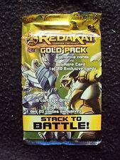 Redakai Conquer the Kairu - Gold Pack - 6 X-Drives Plus 1 Rare Card BNIP sealed