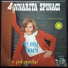 Annarita Spinaci – Se Mi Baci / E Poi Perché 45 giri Mint  1968 Disco Estatre