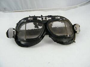 VINTAGE-GOGGLES-PILOT-AVIATOR-MOTORCYCLE