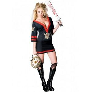 image is loading official miss voorhees jason adult halloween costume women