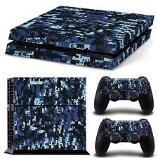 PS4 Skin Pixel Krieger Designfolie Sticker Playstation 4 Vinyl Schutzfolie  Matt