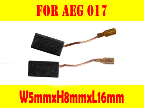 Carbon Brushes For AEG 017 279375 WS601 WS602 WS632 KSS2.5 Grinder 5X8X16mm