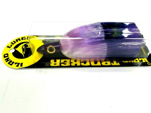 "Purple Head Purple Crystal Iland TRACKER Trolling Lure 4.25/"" 3//4 Oz TR506-PLC"