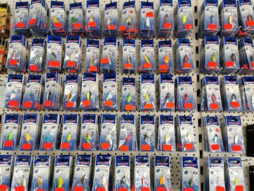 10  20 25 50 verschiedene Paladin Spoons im Set 1,6g bis 4,5g bunt gemischt