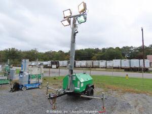 2010 Terex RL4000 Towable Light Tower Generator 6kW GenSet Kubota Diesel bidadoo