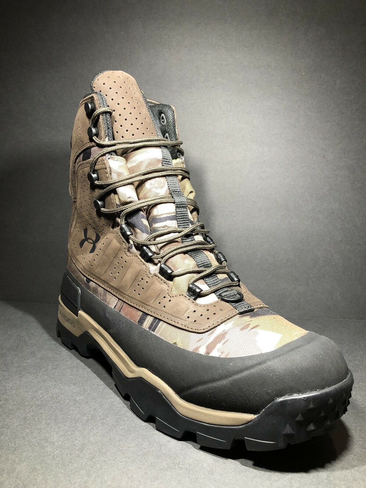 Under Armour Burnt River Mid 2.0 Hiking Boots Shoes SMS Sample Men/'s size 9