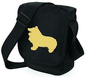 Sheltie-Shetland-Sheepdog-Bag-Dog-Walkers-Bags-Shoulder-Bag-Birthday-Xmas-Gift