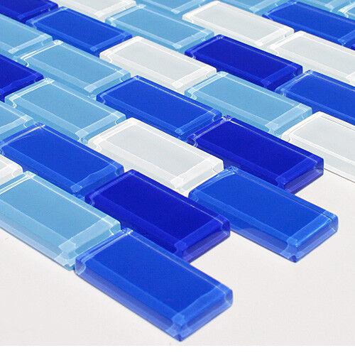 Design Fliesen Glasmosaik Mosaikfliesen mosaik 8mm Stärke HAF320 (10 Matte)