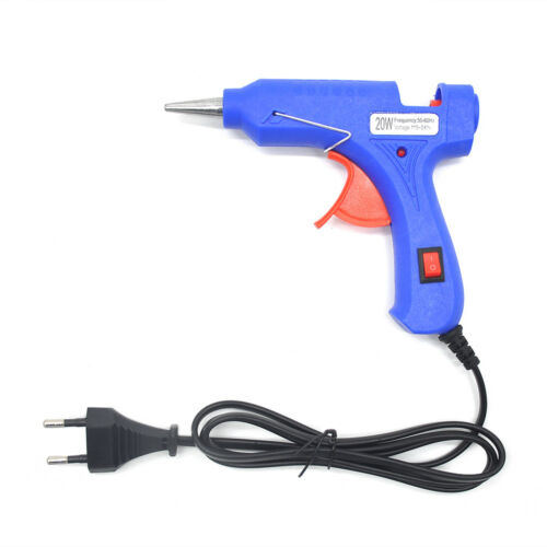 20W 110-220V Professional Mini Electric Heating Hot Melt Glue Gun EU//US Plug