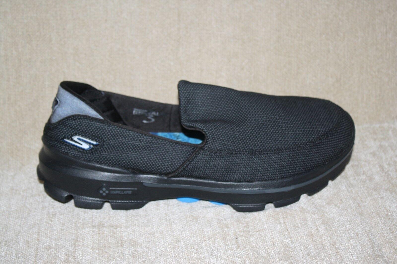Hombre para Skechers Go Walk 3 negro zapatos para Hombre caminar sn53852-see tamaños (244) c15c9a