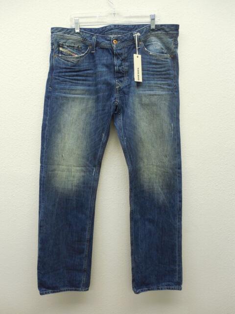 Diesel Men's Viker Jeans (Medium Well Worn Wash) 08011I  New & Authentic