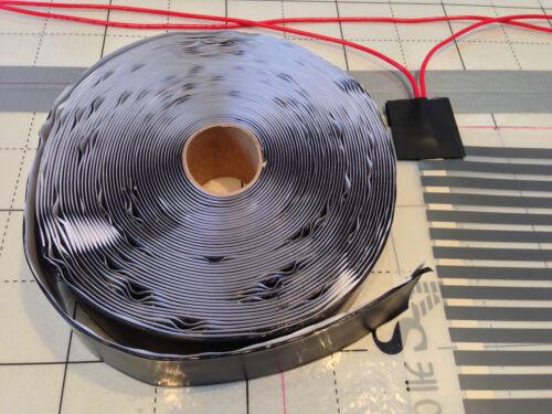 Carbon Warm Floor Heating Film Kit 75 sq ft 120V