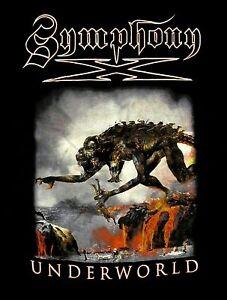 SYMPHONY-X-cd-cvr-UNDERWORLD-MONSTER-DATES-Official-Tour-SHIRT-SMALL-new
