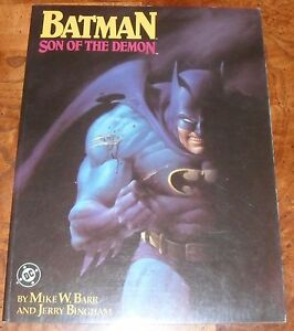 Batman-Son-of-the-Demon-Graphic-Novel-TPB-DC-1987-1st-Printing-SC-Barr