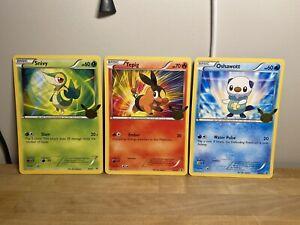 Pokemon First Partner Pack (Unova) - Three Jumbo Cards ONLY  BW01 02 03