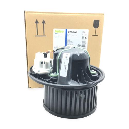 NEW HVAC Blower Motor Valeo 715048 For BMW E82 E88 E89 E90 E91 128i 135i M3 X1