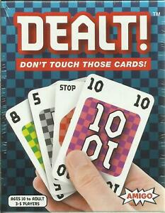 DEALT-Don-039-t-Touch-Those-Cards-Card-Game-Amigo-Games-NEW-amp-SEALED