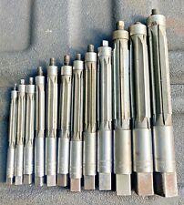 Mrampt Millersburg Usa Adjustable Reamer Set 1132 1 Straight Flute Machinist Tool