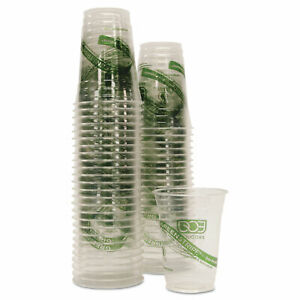 Eco-Products GreenStripe Renewable/Compostable Cold Cups Convenience Pack 16oz