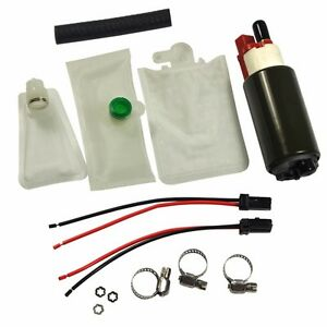 New High Performance Electric Intank Fuel Pump With Installation Kit E2157