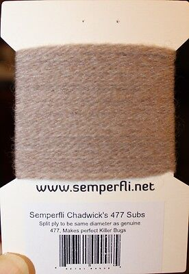Semperfli Chadwick 477 Substitute Wolle Sawyer´s KILLER BUG Semperfli is back!