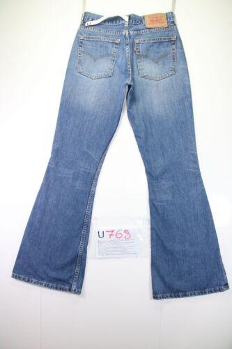 U768 Flare Vintage cod Bootcut Usato tg 544 W29 Donna 43 Zampa Jeans L34 Levi's 5PxwqIP