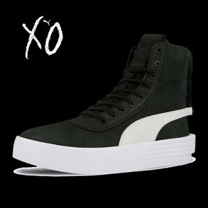 UNISEX-PUMA-XO-PARALLEL-X-WEEKND-LEATHER-BOOTS-HI-TOP-SNEAKERS-365039-05-7-12
