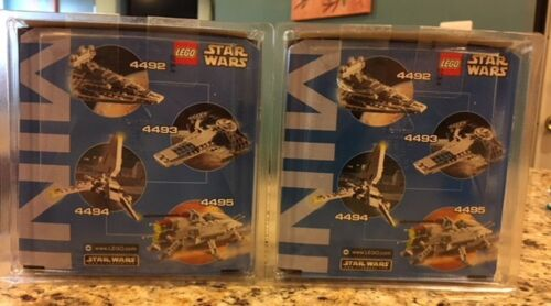Star Wars Lego 4492 /& 4494 Star Destroyer Imperial Shuttle Mini Building SEALED