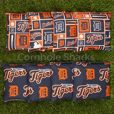 Cornhole Bean Bags Set of 8 ACA Regulation Bags Detroit Tigers Free Shipping