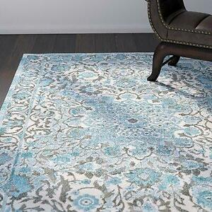 Feizy Rugs Oriental Blue Area Rug - 86% Off Canada Preview
