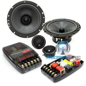 """CDT AUDIO CL-61A-25 PRO CLASSIC 6.5"""" COMPONENT SPEAKERS CROSSOVERS TWEETERS NEW"""