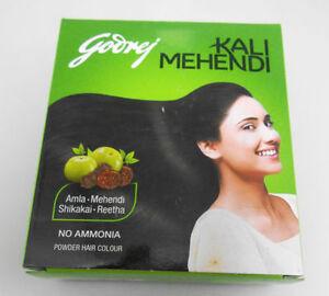 d619e9cc0 12 x Godrej Kali Mehendi Mehndi Hair Color Henna Amla 3 gram Sachets ...