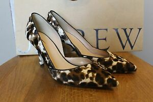 2a0cb1da0749 New J Crew Collection Colette Calf Hair d Orsay Pumps E0776  378 Sz ...