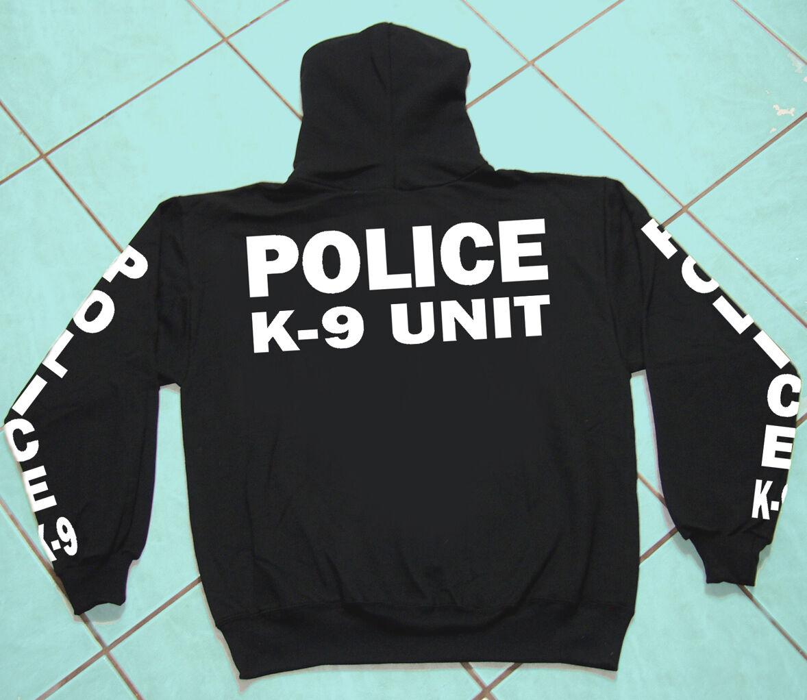 Police K-9 Unit, Hooded Sweat Shirt, Geschäft, Professional, Heavy Weight Gildan